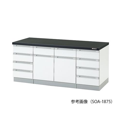 アズワン サイド実験台(木製タイプ) 3000×750×800mm 1台 [3-4183-13] [個人宅配送不可][送料別途お見積り]