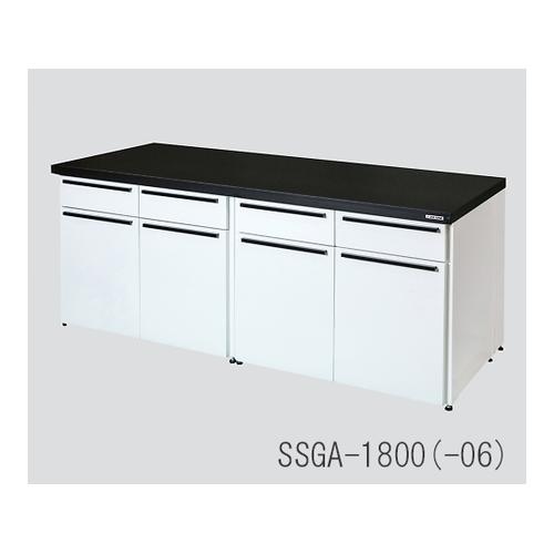<title>AS ONE 実験室設備 実験台 SEAL限定商品 SSGA-450 アズワン サイド実験台 スチ-ルユニット フラット型 450×750×800 1台 3-4468-01 個人宅配送不可 送料別途お見積り</title>