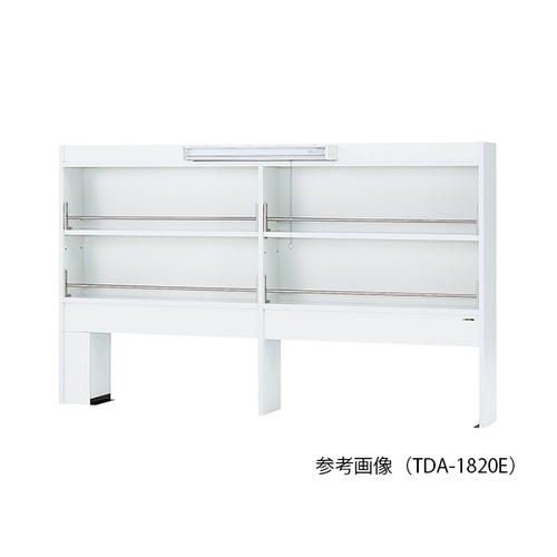 アズワン 試薬棚(片面型・LED照明付き) 1500×200×1070mm 1台 [3-4582-13] [個人宅配送不可][送料別途お見積り]