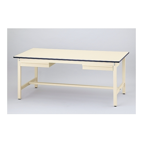 アズワン ワークテーブル(引出し2個付き) 1800×900×740mm 1個 [1-2867-12] [個人宅配送不可]