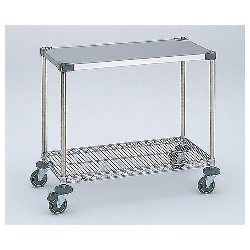 アズワン ワーキングテーブル1型 1213×614×815mm φ100 1台 [3-417-10]