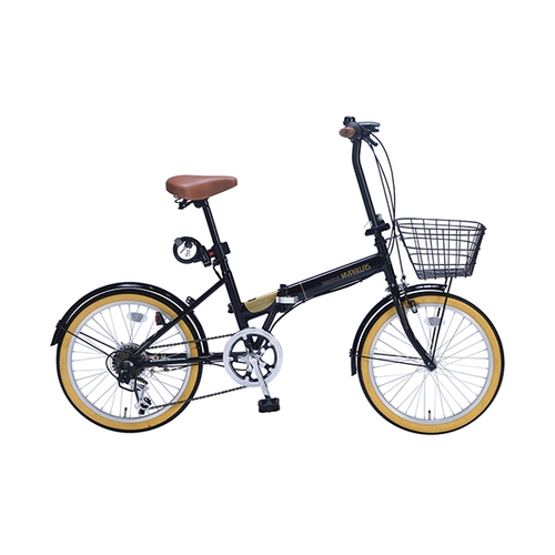 アズワン 折りたたみ自転車(オールインワン) ブラック 1台 [3-9762-03]