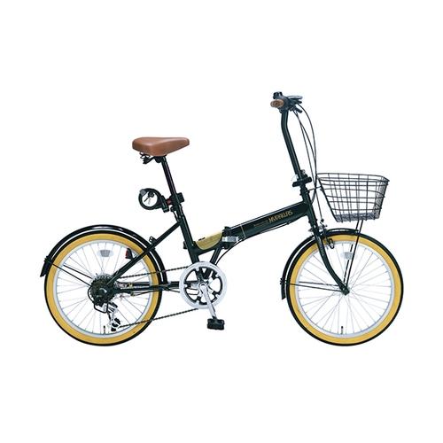 アズワン 折りたたみ自転車(オールインワン) ダークグリーン 1台 [3-9762-04]