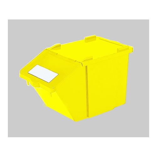 アズワン 万能ボックス SAX45(黄) 1個 [7-5009-02]