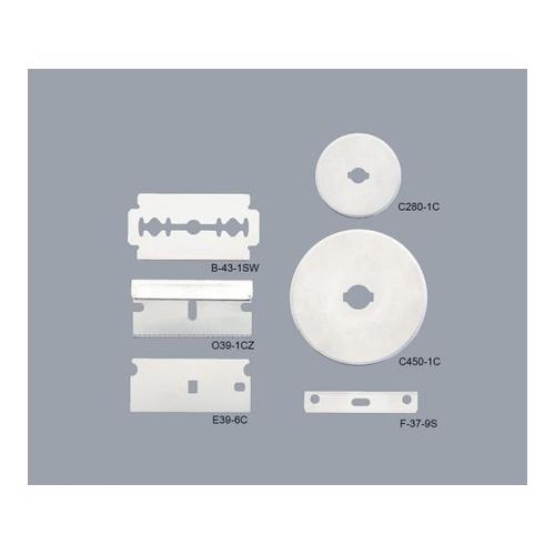 アズワン 実験用特殊刃 炭素鋼 φ45mm 1箱(100枚入り) [2-066-05]