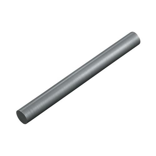 アズワン 黒鉛丸棒(グラファイト丸棒 CIP材) 直径Φ5mm×長さ300mm 1本 [3-693-01]
