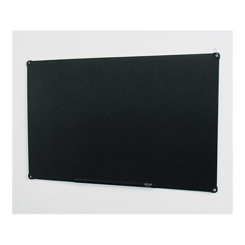 アズワン 静電気吸着式掲示板 ESCLIP(R) 1000×650×3mm 黒 1台 [3-9631-02]