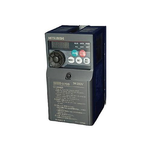 アズワン 汎用インバータ FREQROL-D700シリーズ 200~240V 0.8A 1個 [61-3561-63]