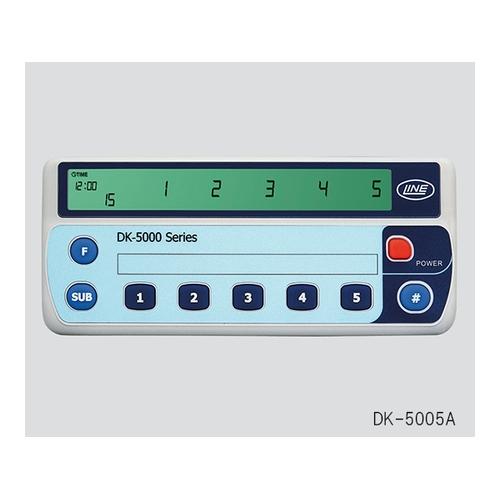アズワン 電子式数取器(5連式) 1個 [3-6088-01]