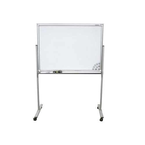 アズワン 電子黒板 白板家 1302×610×1810mm シルバー 1台 [3-8439-01] [個人宅配送不可]