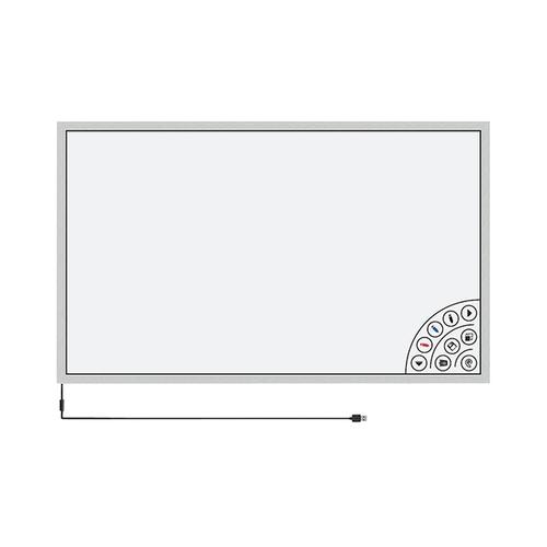 アズワン タッチフレーム 白板家 1252×721mm シルバー 1台 [3-8441-02]