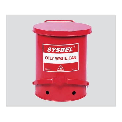 【初回限定】 耐火ゴミ箱 アズワン 1個 φ470×600mm [3-6737-04]:セミプロDIY店ファースト-DIY・工具
