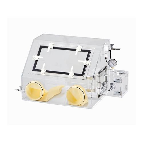 アズワン ガス置換型アクリルグローブボックス 1台 [2-4952-01] [個人宅配送不可]