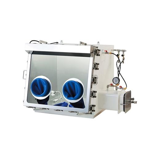 アズワン ガス置換型ステンレスグローブボックス 800×725×650mm 1個 [3-3013-21] [個人宅配送不可][送料別途お見積り]