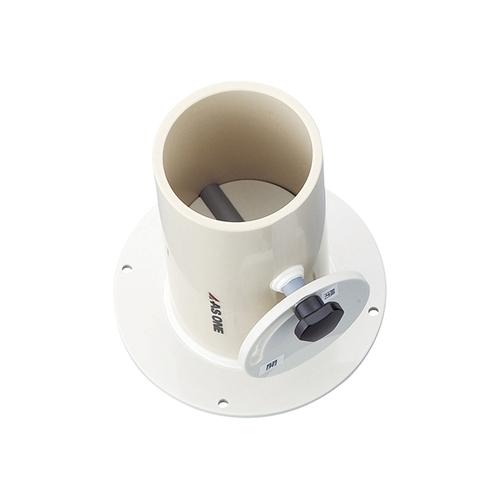 アズワン 配管用部品 風量調節ダンパ(直接型) φ75mm 1個 [1-1607-01]