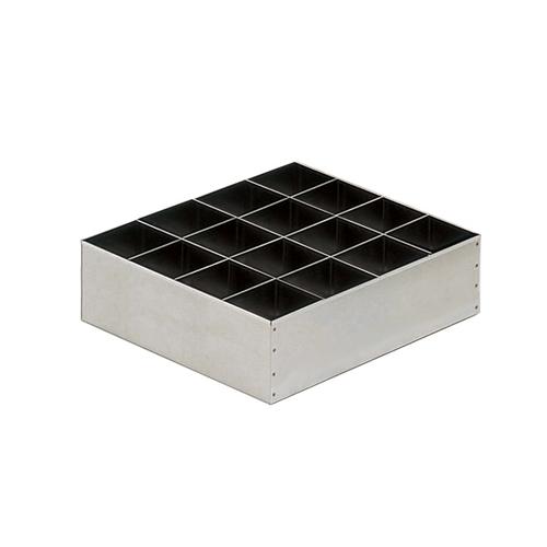 アズワン 薬品庫 SH型用1L/ガロン瓶仕切板 1セット [3-060-04]