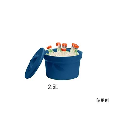 アズワン アイスバケツ Magic Touch 2(TM) 容量 2.5L ブルー 1個 [3-6391-01]