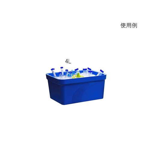 アズワン アイスパン Magic Touch 2(TM) 容量 4L ブルー 1個 [3-6458-01]