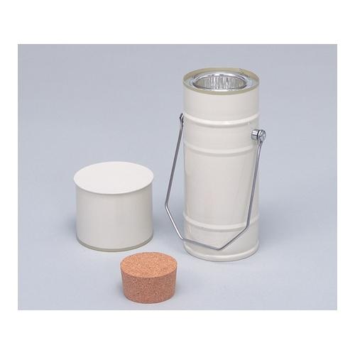 アズワン デュワー瓶 円筒型 500mL 1個 [5-245-03]