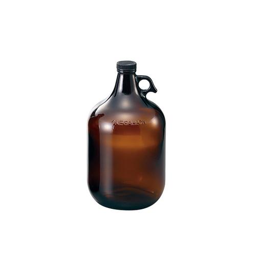 アズワン アンバーガロン瓶 3840mL 4本入り 1箱(4本入り) [1-1843-11]