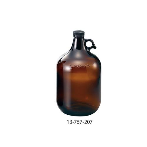 アズワン アンバーガロン瓶 3840mL 4本入り 1箱(4本入り) [1-1843-14]