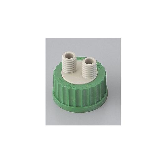 アズワン ねじ口瓶用キャップ(硬質マルチチューブ用・GL45用) キャップ本体 PP製 1個 [1-7427-01]