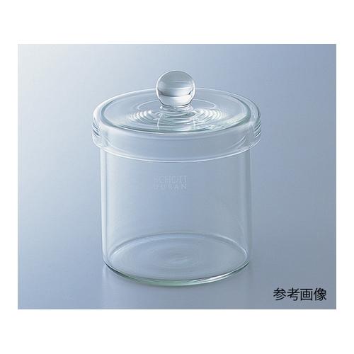 アズワン 保存瓶 1000mL フタ持ち手付 1個 [1-8395-03]