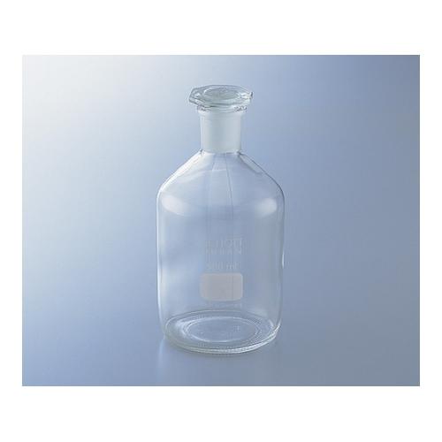 アズワン 試薬瓶(栓付き)(デュラン(R)) 白 5000mL 1本 [1-8400-08]