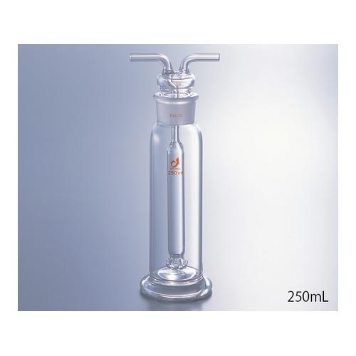 アズワン ガス洗浄瓶(ムインケ式) 125mL 1個 [1-9544-01]
