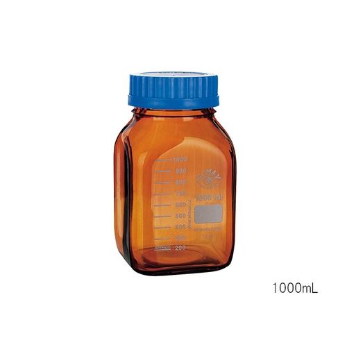 アズワン 広口メディウム瓶 遮光 2000mL 1個 [3-6005-03]