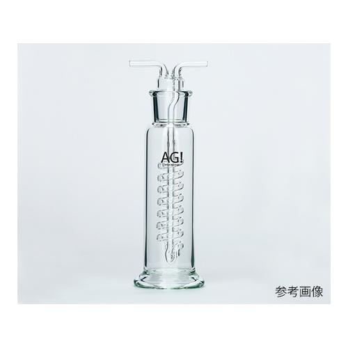 アズワン 透明共通摺合ガス洗浄瓶 ウオルター式 250mL 1個 [3-9412-03]