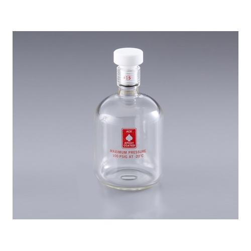 アズワン 耐圧ボトル(ACE GLASS) 250mL 1本 [1-1371-03]