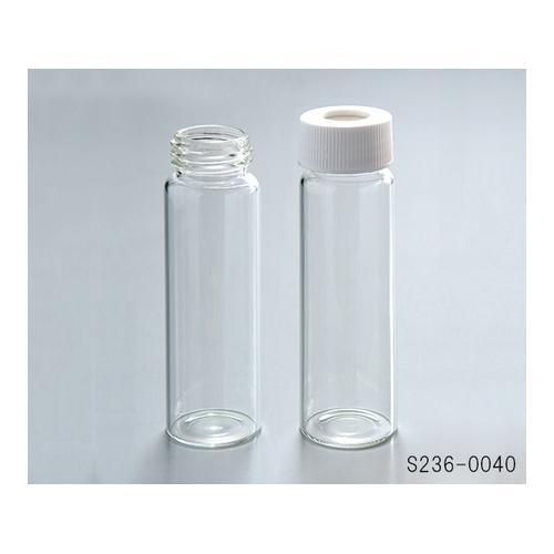 アズワン 飲料水分析用バイアル(I-CHEM) クラス200 厚板セプタム 72本入 1箱(72本入り) [1-1374-03]