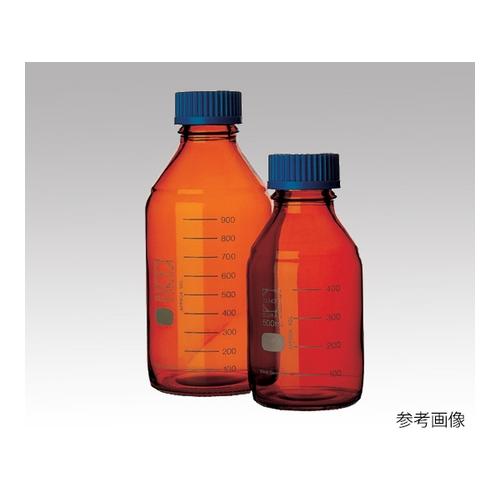 アズワン ねじ口瓶丸型茶褐色(デュラン(R)・017210) 3500mL 1本 [1-1961-11]