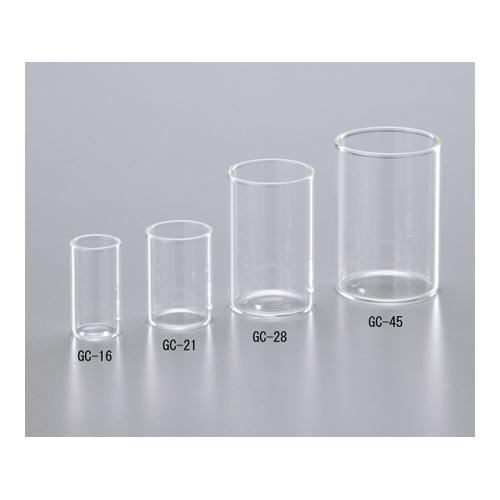 アズワン ガラスカップ φ21.5mm 150本入 1箱(150本入り) [1-8417-04]