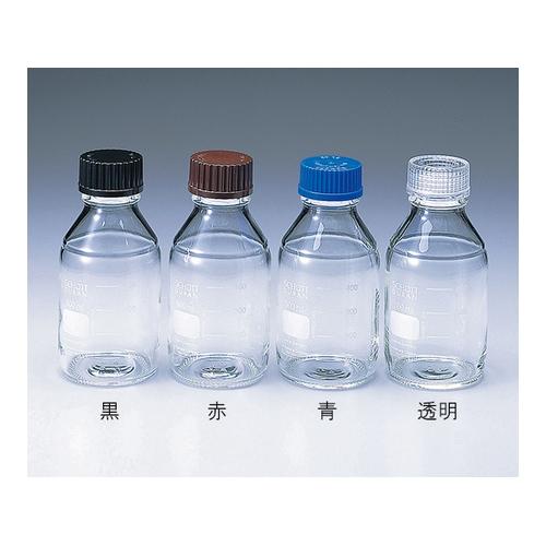 アズワン ねじ口瓶丸型白(デュラン(R)) 赤キャップ付 10000mL 1本 [2-076-08]