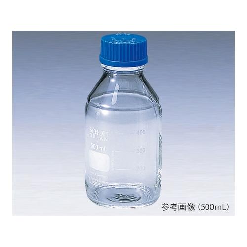 アズワン ねじ口瓶丸型白(デュラン(R)) 青キャップ付 15000mL 1本 [2-077-13]