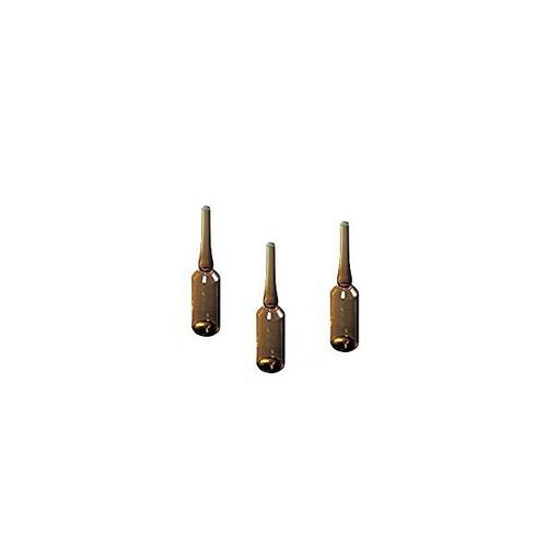 アズワン アンプル管(硼珪酸ガラス製) 2mL 褐色 200本入 1箱(200本入り) [5-125-02]
