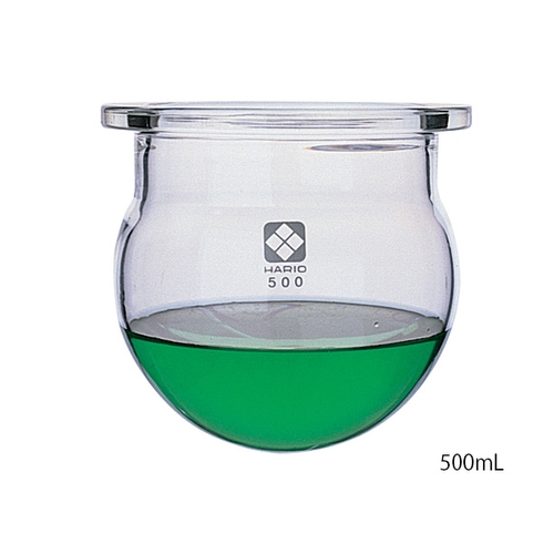 アズワン セパラブルフラスコ丸形(平面摺合タイプ) 300mL 1個 [1-7803-01]