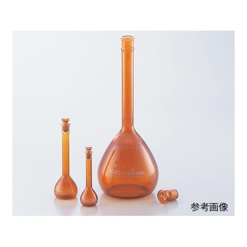 アズワン メスフラスコ 茶 2000mL 1個 [1-8564-31]