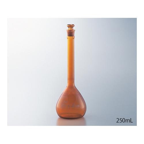 アズワン 高精度メスフラスコ 茶 2000mL 1個 [1-8565-31]