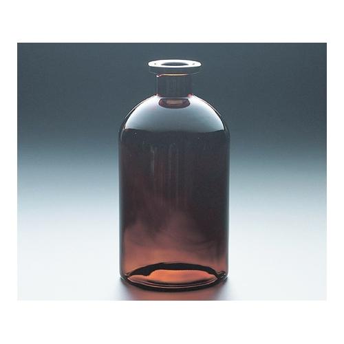 アズワン 平面自動ビュレット用瓶(パイプメイド) 1000mL 茶 1個 [1-8579-13]