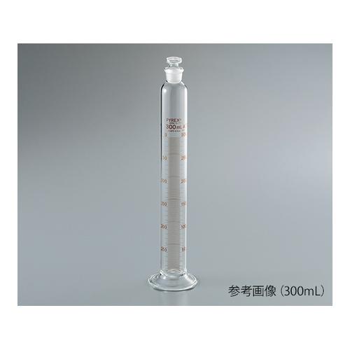 アズワン PYREX(R) JIS 有栓メスシリンダー 500mL 1ケース [62-4865-37]