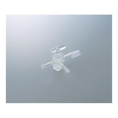アズワン 共通摺合付三方コック2型 ガラスコック TS24/40 1個 [1-4350-03]