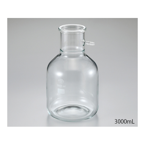 アズワン 濾過瓶 5L 1個 [2-8623-02]