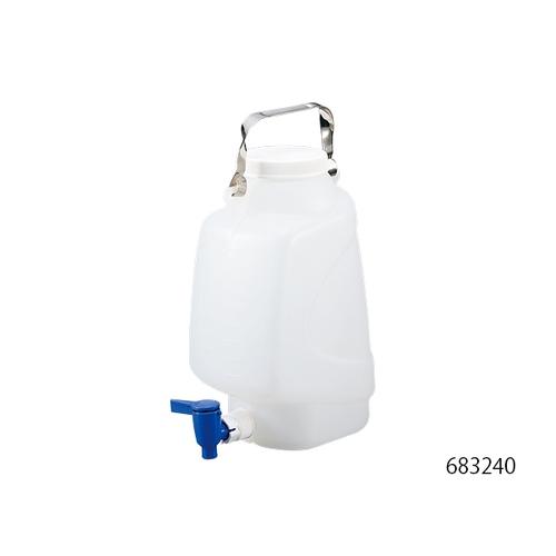 アズワン 活栓付タテ型タンク(PP製) 20L 1本 [1-1755-03]