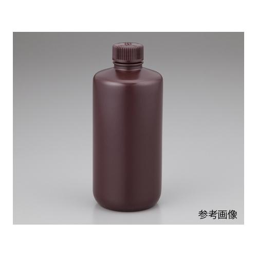 アズワン 細口試薬ボトル 褐色 500mL 12本入り 1箱(12袋入り) [1-2689-08]