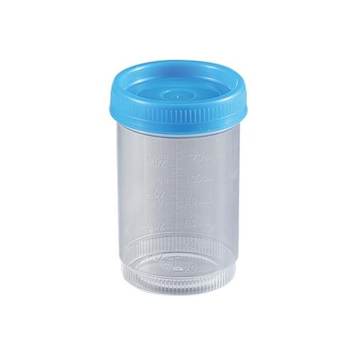 アズワン 食品検体容器 120mL 青 1箱(100袋入り) [2-3259-04]