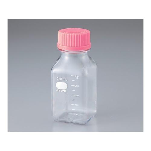 アズワン ビオラモポリカーボネイト角型ボトル 500ml(ケース販売) 24本入 1箱(24個入り) [2-4130-53]