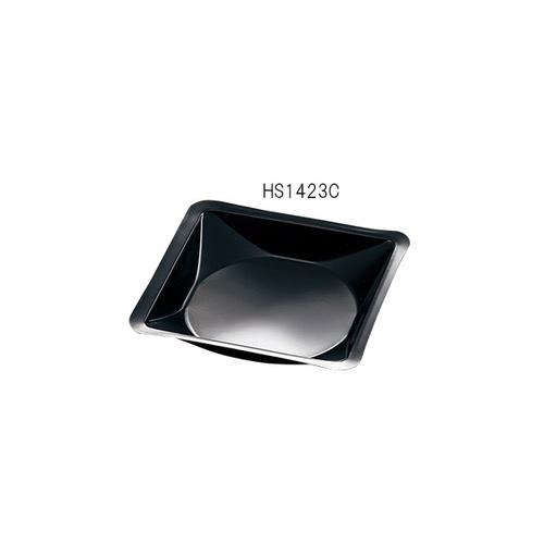 アズワン ウェニングボート 140×140×22mm ナチュラル 黒 500枚入 1袋(500枚入り) [3-6026-09]